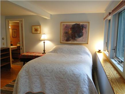 S. Wellfleet Cape Cod vacation rental - Downstairs Master Suite with queen bed, private bath, bay view
