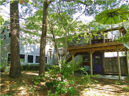 S. Wellfleet Cape Cod vacation rental - View of two stories, deck
