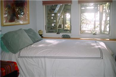 S. Wellfleet Cape Cod vacation rental - Downstairs master  bedroom with Bay view