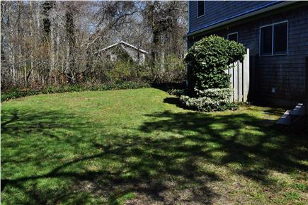 Brewster Cape Cod vacation rental - Level backyard with enclosed outdoor shower
