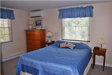 Brewster Cape Cod vacation rental - First floor bedroom with queen bed and en suite bathroom