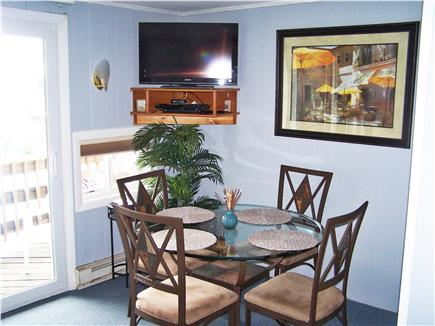 Dennisport Cape Cod vacation rental - Living/Dining with slider
