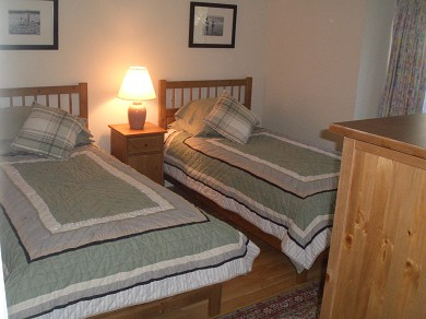 Brewster Cape Cod vacation rental - Bedroom with twin beds