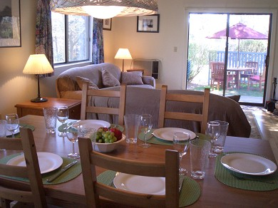 Brewster Cape Cod vacation rental - View of Dining/Living Areas from Kitchen
