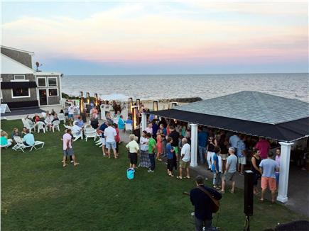 Dennisport Cape Cod vacation rental - Tiki Bar across the street on the ocean