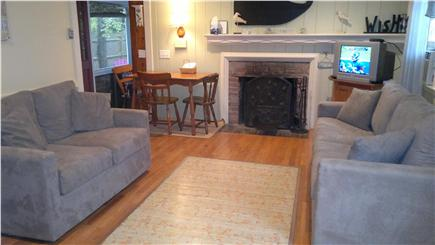 Dennisport Cape Cod vacation rental - Cozy living room