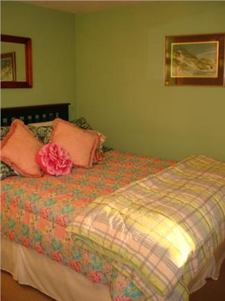 Brewster Cape Cod vacation rental - Bedroom bed facing window.