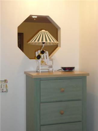Brewster Cape Cod vacation rental - Bedroom bureau with decorative wall.
