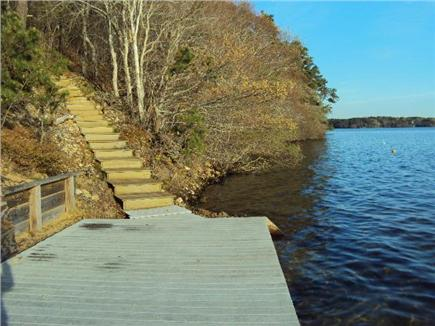 Brewster Cape Cod vacation rental - Up the Street to a 2nd pond with a dock.