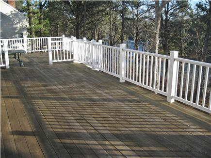 Chatham Cape Cod vacation rental - Deck at rear of home
