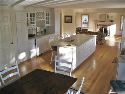 Chatham Cape Cod vacation rental - Kitchen looking into Family Room