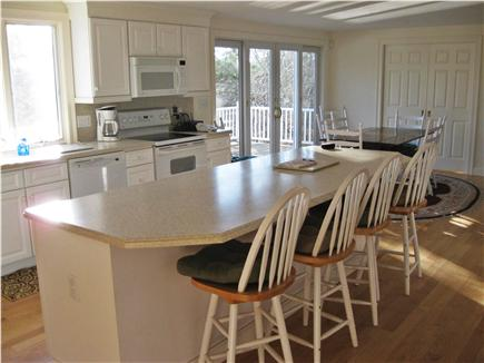 Chatham Cape Cod vacation rental - Kitchen with view towards pond