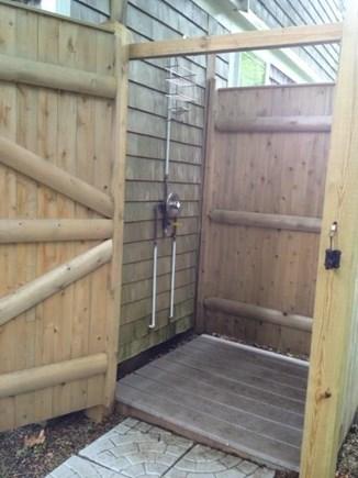 Dennis Cape Cod vacation rental - Outside Shower