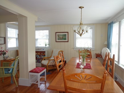 Falmouth Heights Cape Cod vacation rental - Dining/ reading area