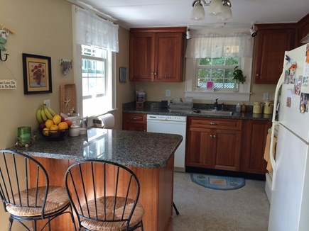 Falmouth Heights Cape Cod vacation rental - Kitchen: Counter seats 4
