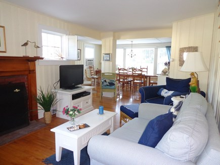 Falmouth Heights Cape Cod vacation rental - Living/ Dining open area