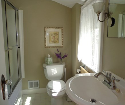 Falmouth Heights Cape Cod vacation rental - Upstairs full bath; shower and bath included