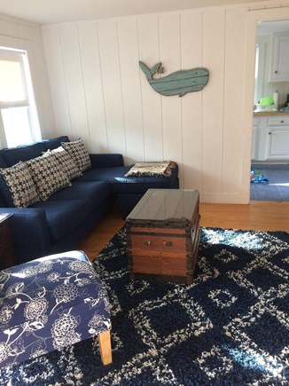 West Harwich Cape Cod vacation rental - Living room with new furniture