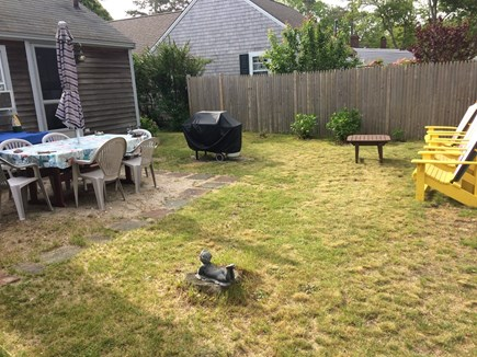 West Harwich Cape Cod vacation rental - Private backyard