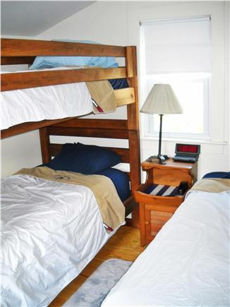 West Harwich Cape Cod vacation rental - Bedroom- Bunk plus Twin