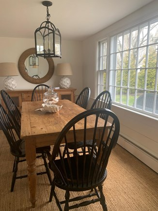 Falmouth Cape Cod vacation rental - Dining Room with seating for six