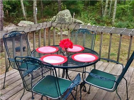 Falmouth Cape Cod vacation rental - View of the deck for fabulous outdoor dining