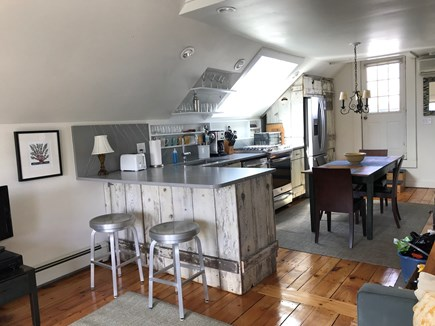 West End, Provincetown Cape Cod vacation rental - Updated kitchen with dining area