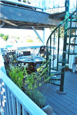 West End, Provincetown Cape Cod vacation rental - Exclusive double-decker deck with water views