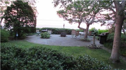 Plymouth MA vacation rental - Patio with fire pit