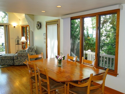 Plymouth MA vacation rental - Dining room, adjacent to kitchen