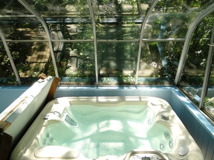 Plymouth MA vacation rental - Relax in the hot tub