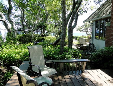 Plymouth MA vacation rental - Master bedroom deck