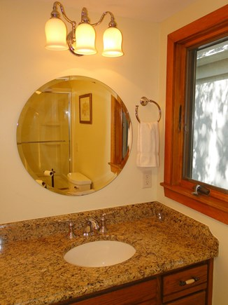 Plymouth MA vacation rental - Bath off the queen bedroom