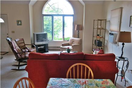 Falmouth Cape Cod vacation rental - Dining Area Opens to Living Room