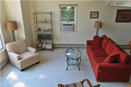 Falmouth Cape Cod vacation rental - View from Staircase to Living Room Below