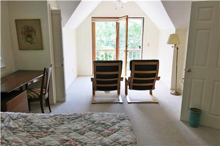 Falmouth Cape Cod vacation rental - Master Bedroom with Sitting Area