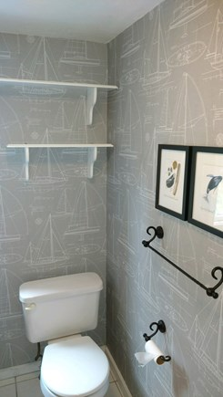 West Yarmouth Cape Cod vacation rental - Updated bathroom on two bedroom side of duplex