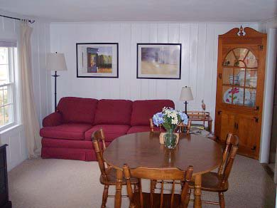 West Yarmouth Cape Cod vacation rental - Living room on two bedroom side