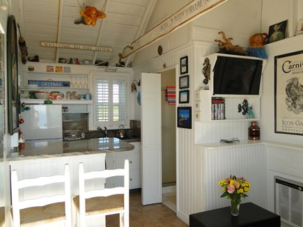 North Truro Cape Cod vacation rental - Bright lofted living area and kitchen
