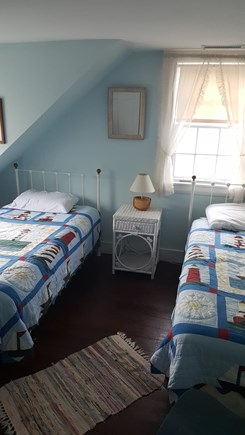 West Yarmouth Cape Cod vacation rental - Twin Bedroom 1 of 2. Other one is similar.
