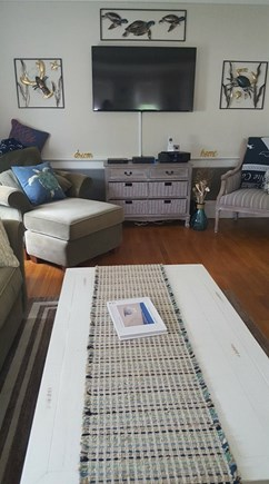 West Yarmouth Cape Cod vacation rental - Updated living room! Relax in style and comfort.