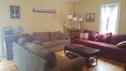 West Yarmouth Cape Cod vacation rental - 2nd full living room! Seating for everyone.