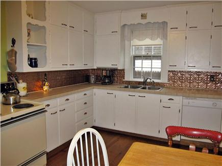 West Yarmouth Cape Cod vacation rental - A dining room that seats 8 is just off the full, eat-in-kitchen
