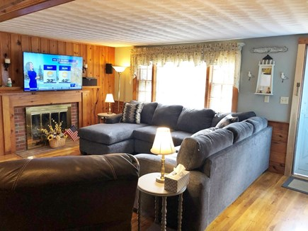 South Yarmouth Cape Cod vacation rental - All new Furniture in the Family Room