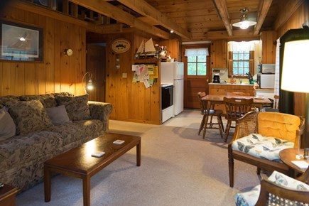 South Chatham Cape Cod vacation rental - Living room open to kitchen