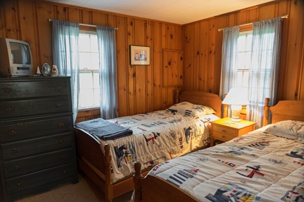 South Chatham Cape Cod vacation rental - Second Bedroom with two twins