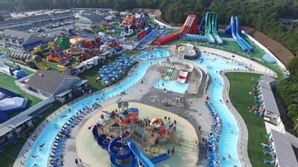 West Yarmouth Cape Cod vacation rental - Cape Cod Inflatable Water Park 5 Minute Drive
