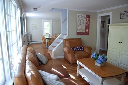Hyannisport Cape Cod vacation rental - Living Room View