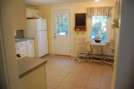 Hyannisport Cape Cod vacation rental - Kitchen To Outdoor Deck View