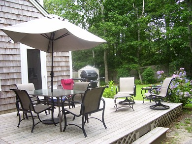 Hyannisport Cape Cod vacation rental - Outdoor Deck -Very Private & Relaxing!